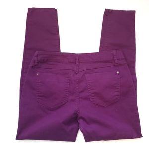 Elle Jeans - Elle Purple Skinny Jeans